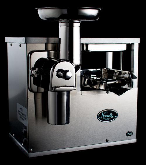Norwalk Model 290 cold-press juicer.