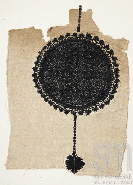 Fragment of Coptic fabric, Egypt, 4th - 5th century, North Bohemian Museum in Liberec