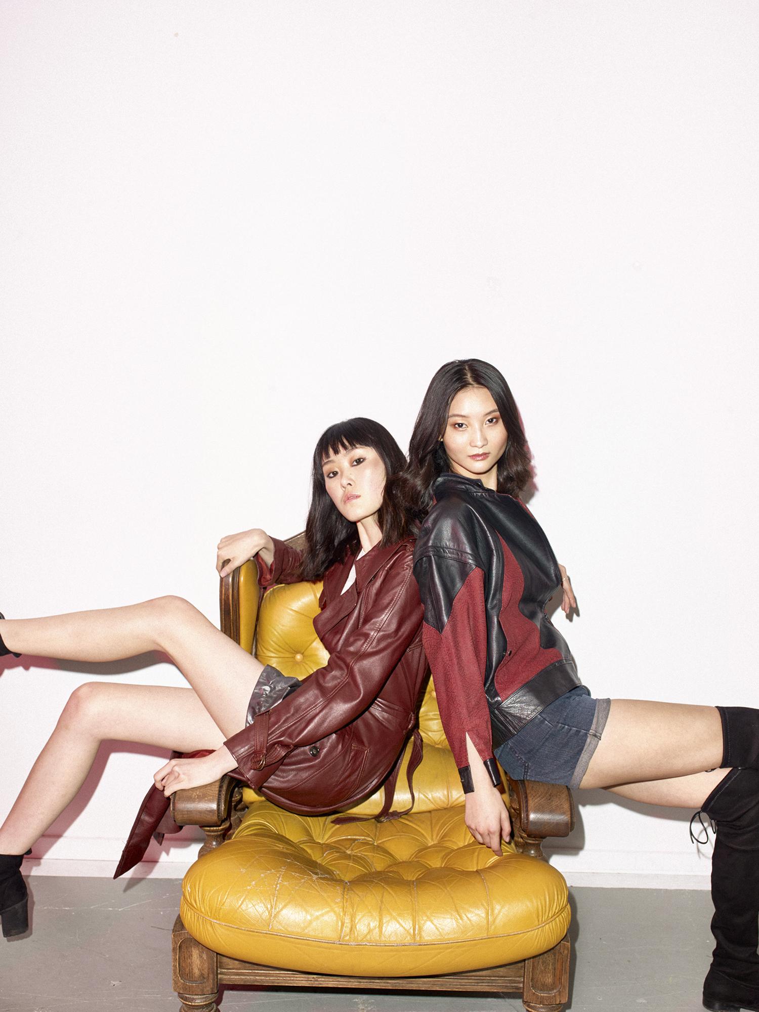 Freja and Alice for James Yang Bintang Models