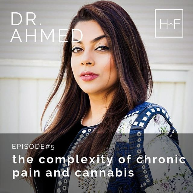 Dr. Ahmed is a chronic pain specialist and Anesthesiologist who combines several modalities when treating her patients including mindfulness, and cannabis. She shared with us some of the challenges physicians face when diagnosing and treating chronic pain conditions. @drsanaara