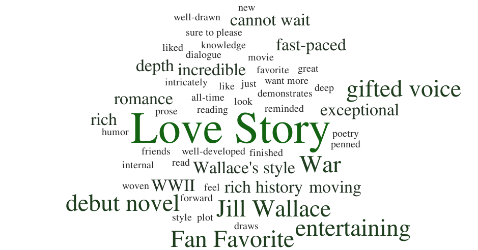 Leave a Review - It would mean the world to me!Email me yours at jillwallaceauthor@gmail.com
