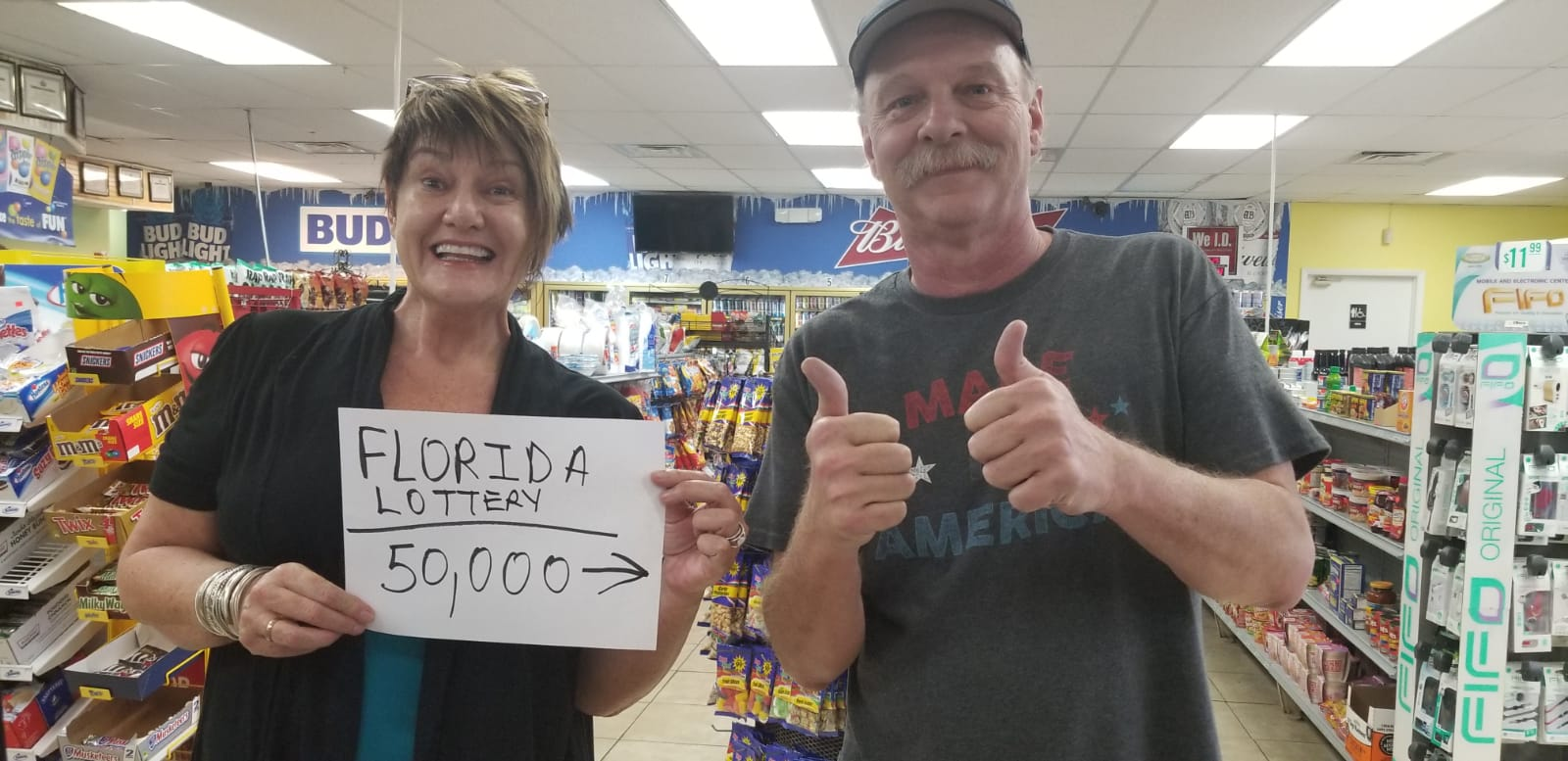 """Wanted to share my cool experience with all of you... 💵⠀ I popped into a local corner store to buy a lottery ticket - hey, a girl's gotta secure her old age pension somehow if she can't make the New YORK BEST SELLERs List - when the man in front of me EXPLODED with joy! He said, """"2 days ago I won $50,000 on a $3 scratch and win"""". I swear the joy was coming out of his every pore. I said, """"What will you do with your money?"""" This man, Charles, said, """"I am going to pay my rent a year in advance... buy four new tires for my truck... a big ass TV... and I've had a broken tooth for a while so now I can go to the dentist"""". Bless him a million times. His joy will live with me for weeks. XX⠀"""