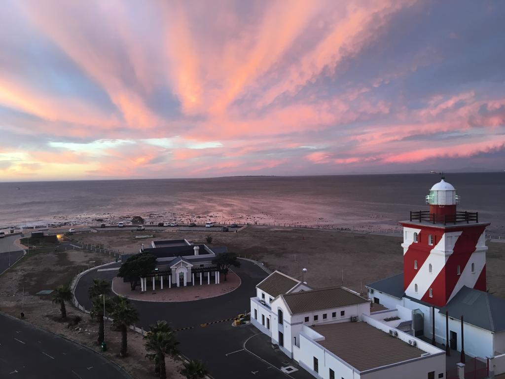 """MOUILLE POINT, Cape Town courtesy of my friend Andrew McIntoch aka Lord Snowdon. This is a stones throw from where in 1950, my parents met their friends who inspired the story and characters of """"WAR SERENADE"""""""
