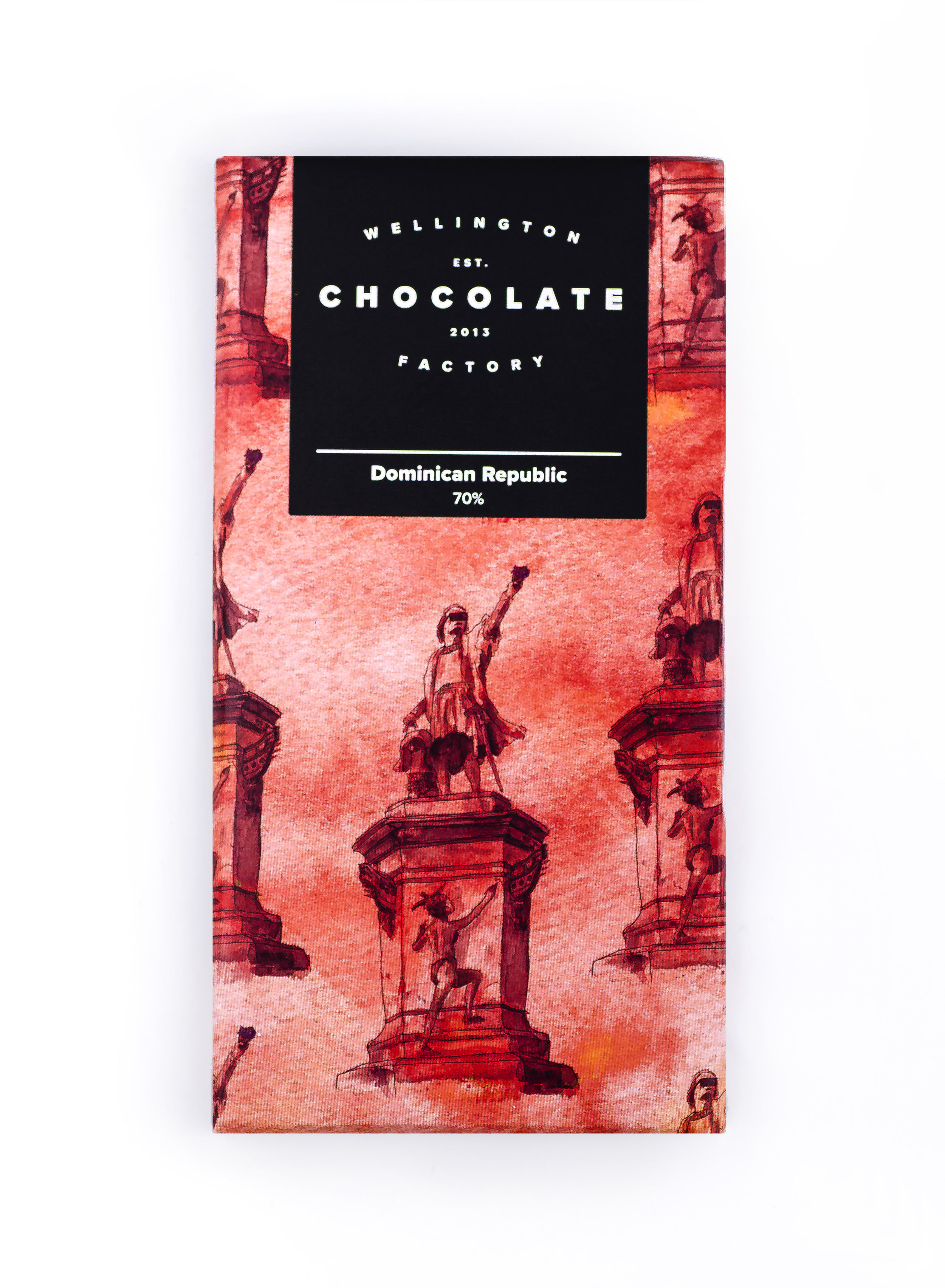 Dominican Republic Chocolate Bar - One of our old friends, a mainstay and a potent introduction to craft bean-to-bar chocolate.