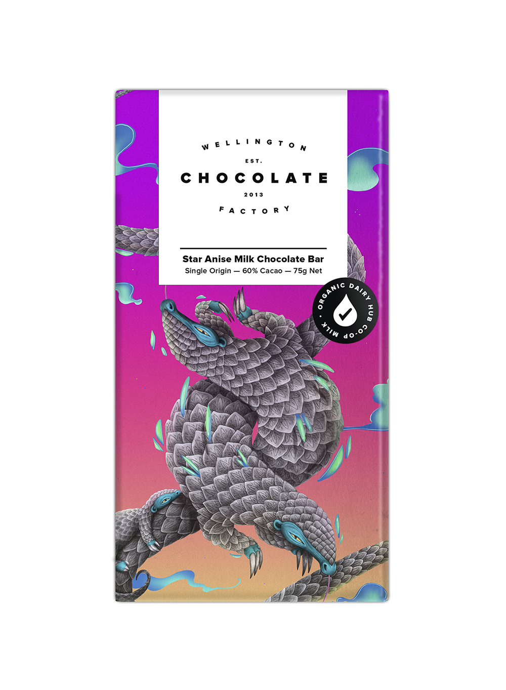 Star Anise Milk Chocolate Bar - A subtle delight that most people don't expect to love.