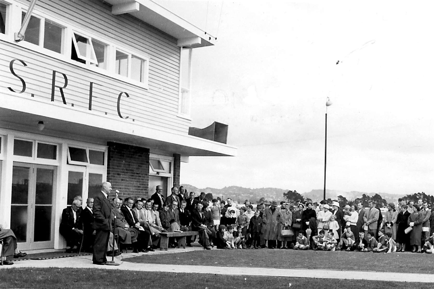 Avondale Suburb Football Clubroom's 50th jubilee. Image Credit: Wayne Dowd. Date unknown.