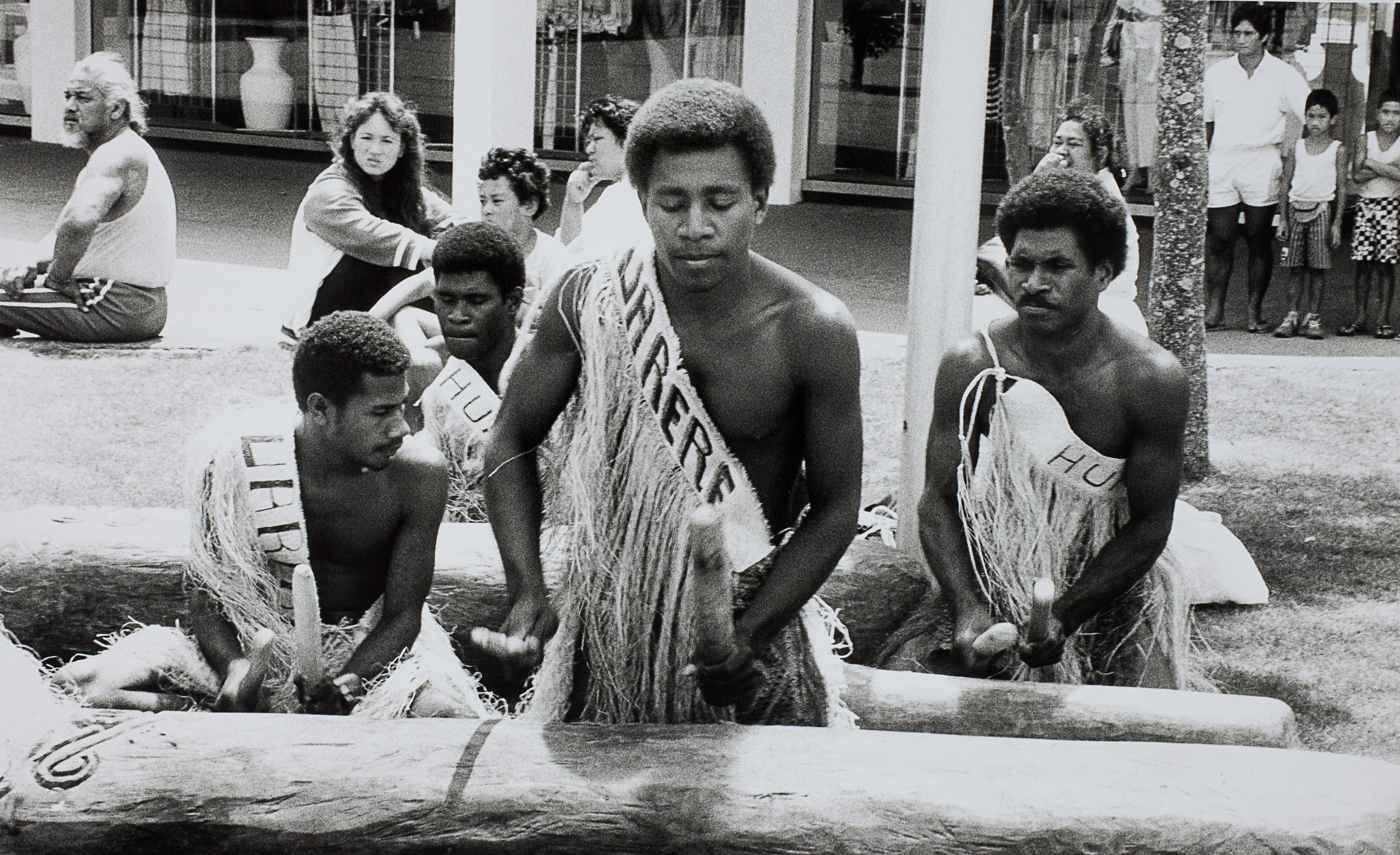 Drums of Melanesia, Manukau, 1990. Creator: Unknown Date: 27 January 1990 Footprints 03369