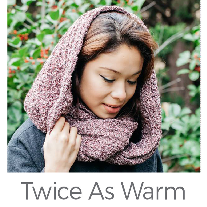 Twice As Warm buy one give one