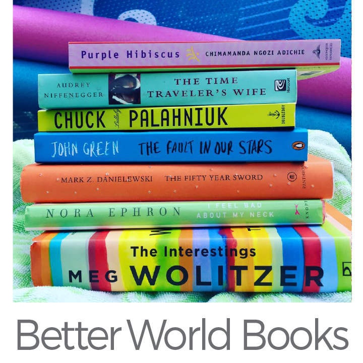 Better World Books make a difference