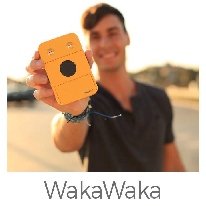 WakaWaka personal solar products