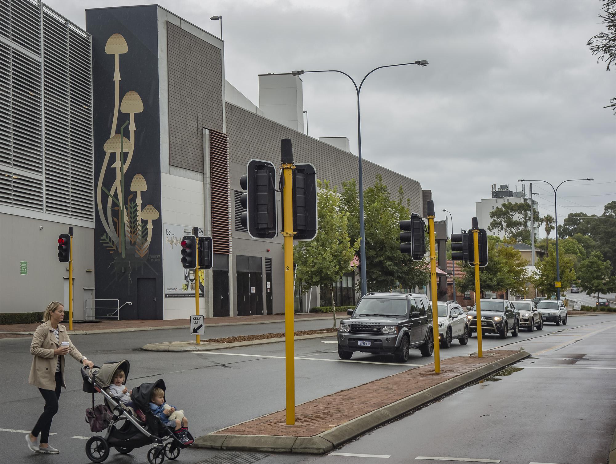 Perth, WA Australia 2017. 'Mushrooms' commissioned by FORM / Claremont Quarters
