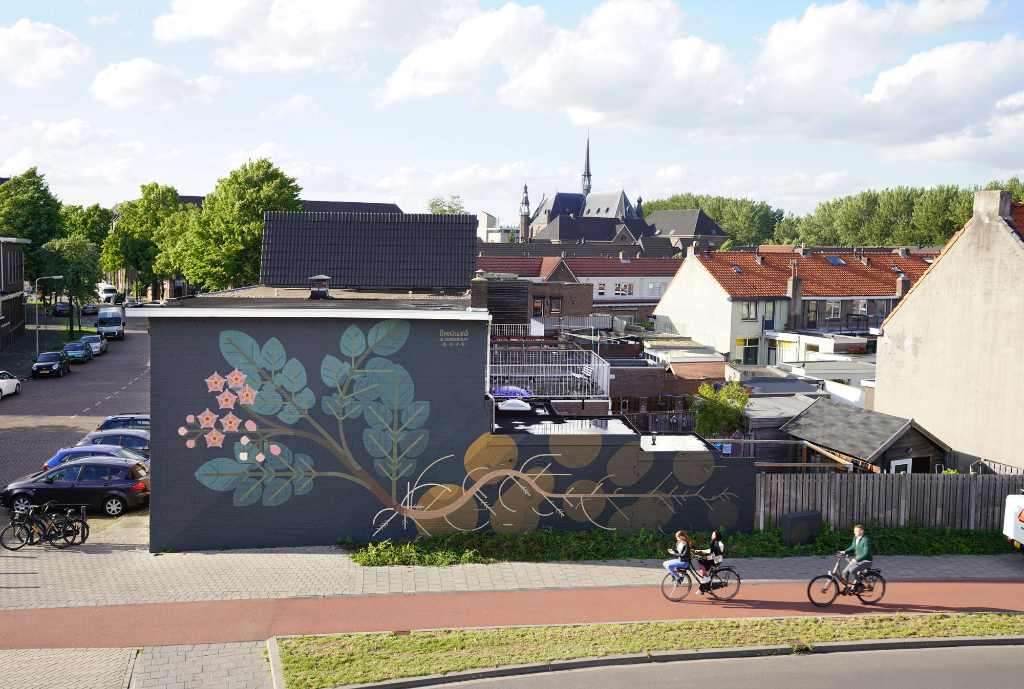 Breda, The Netherlands 2019 'Potato Plant' with Blind Walls Gallery