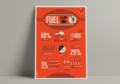 Fuel up poster