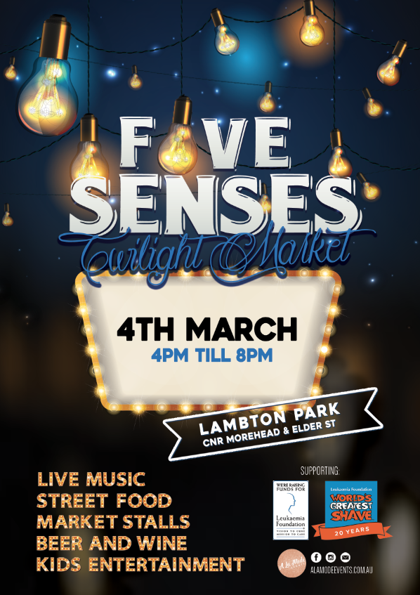 4th of March Five Senses Markets
