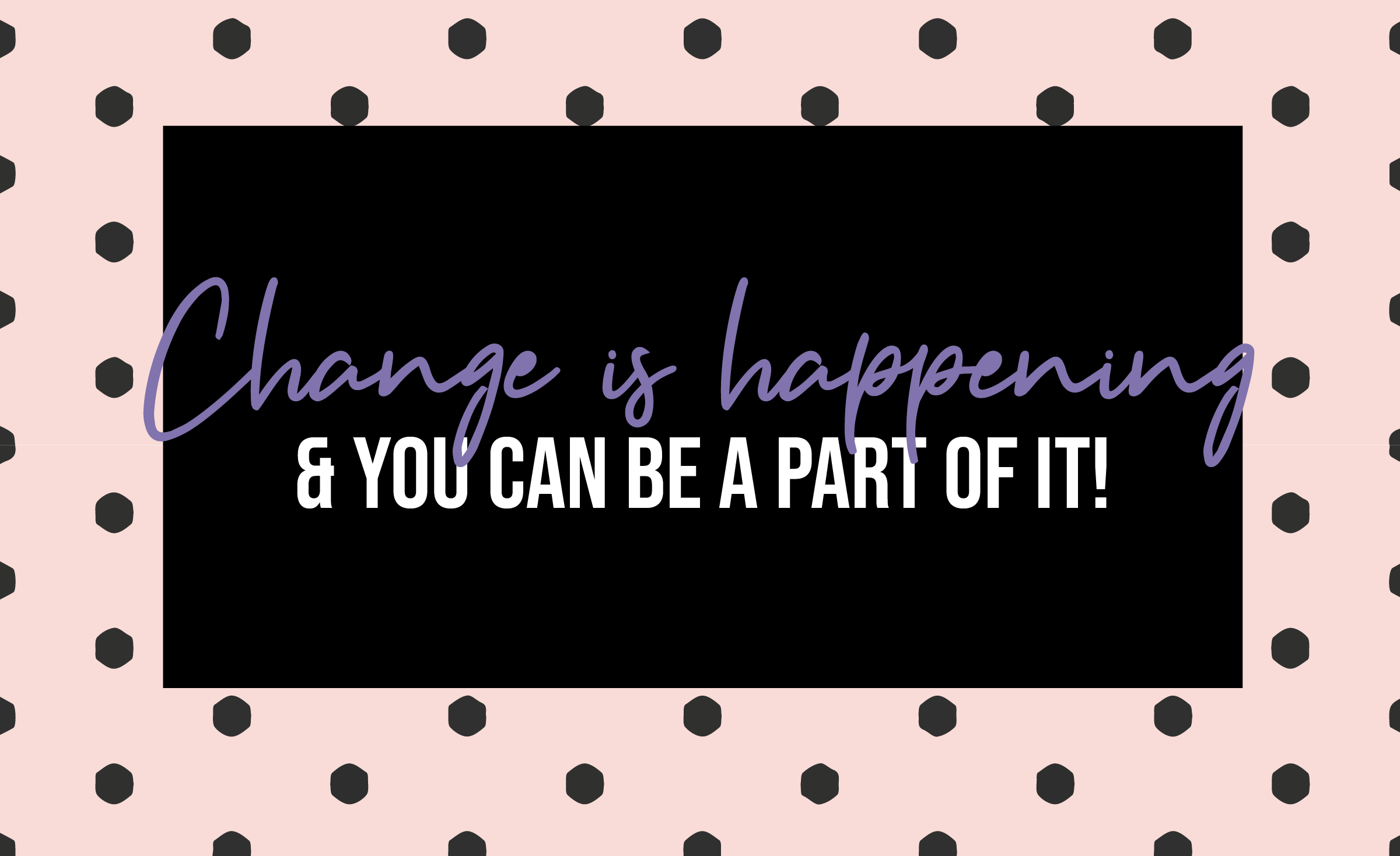 Change is happening at A La Mode