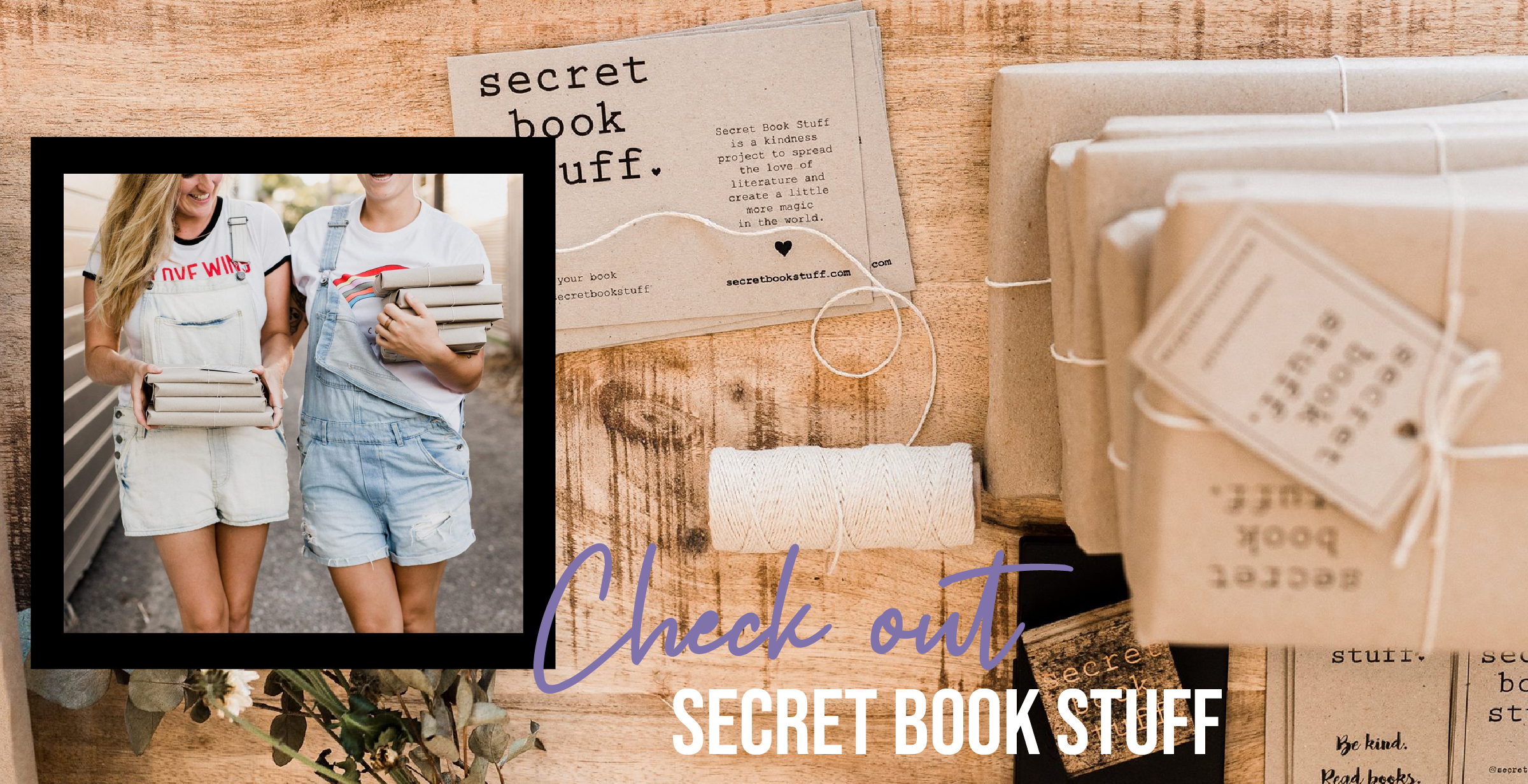 Check out SECRET BOOK STUFF