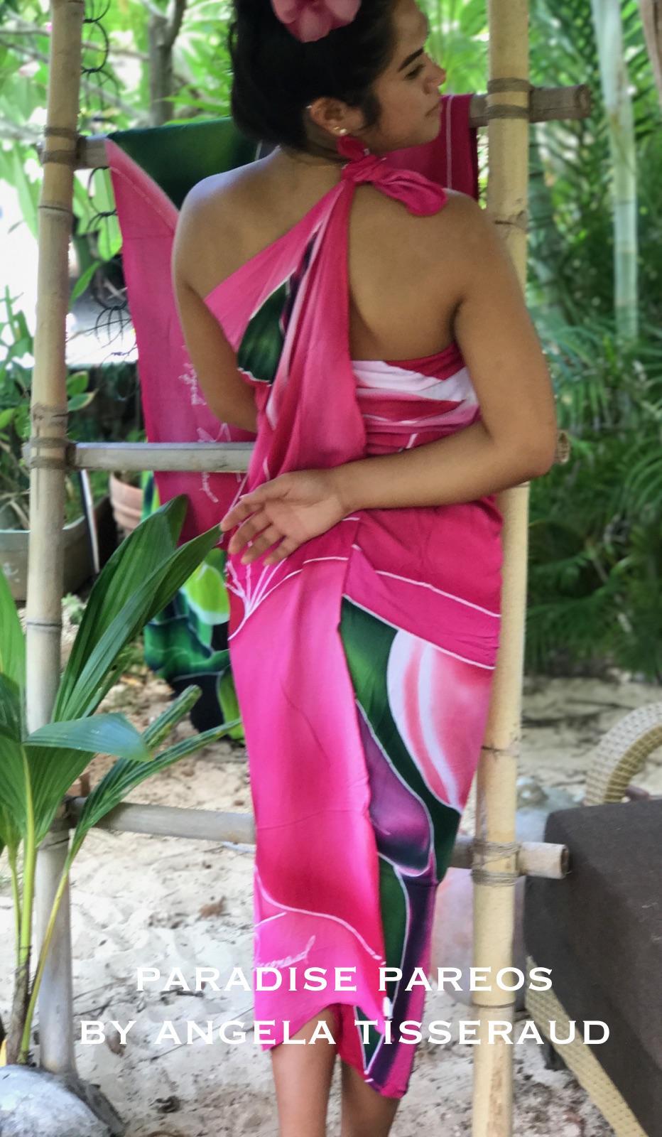 100% Rayon Pareo made in Hawaii