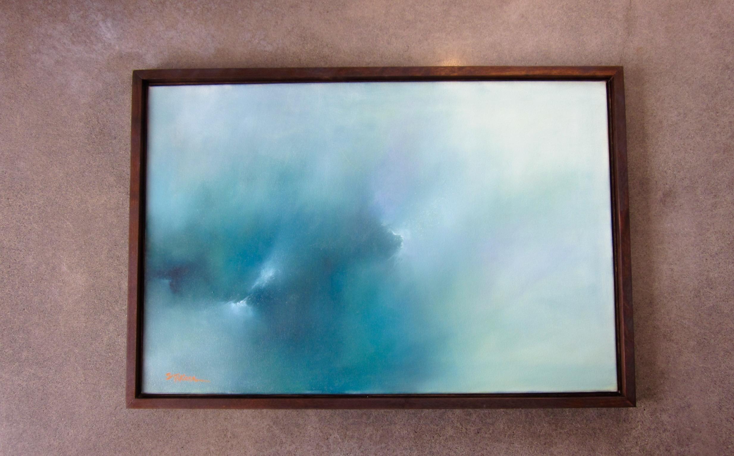 """Morning Rain Mist"" Oil on Canvas 24x36"