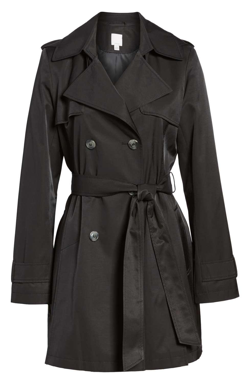 Halogen trench coat