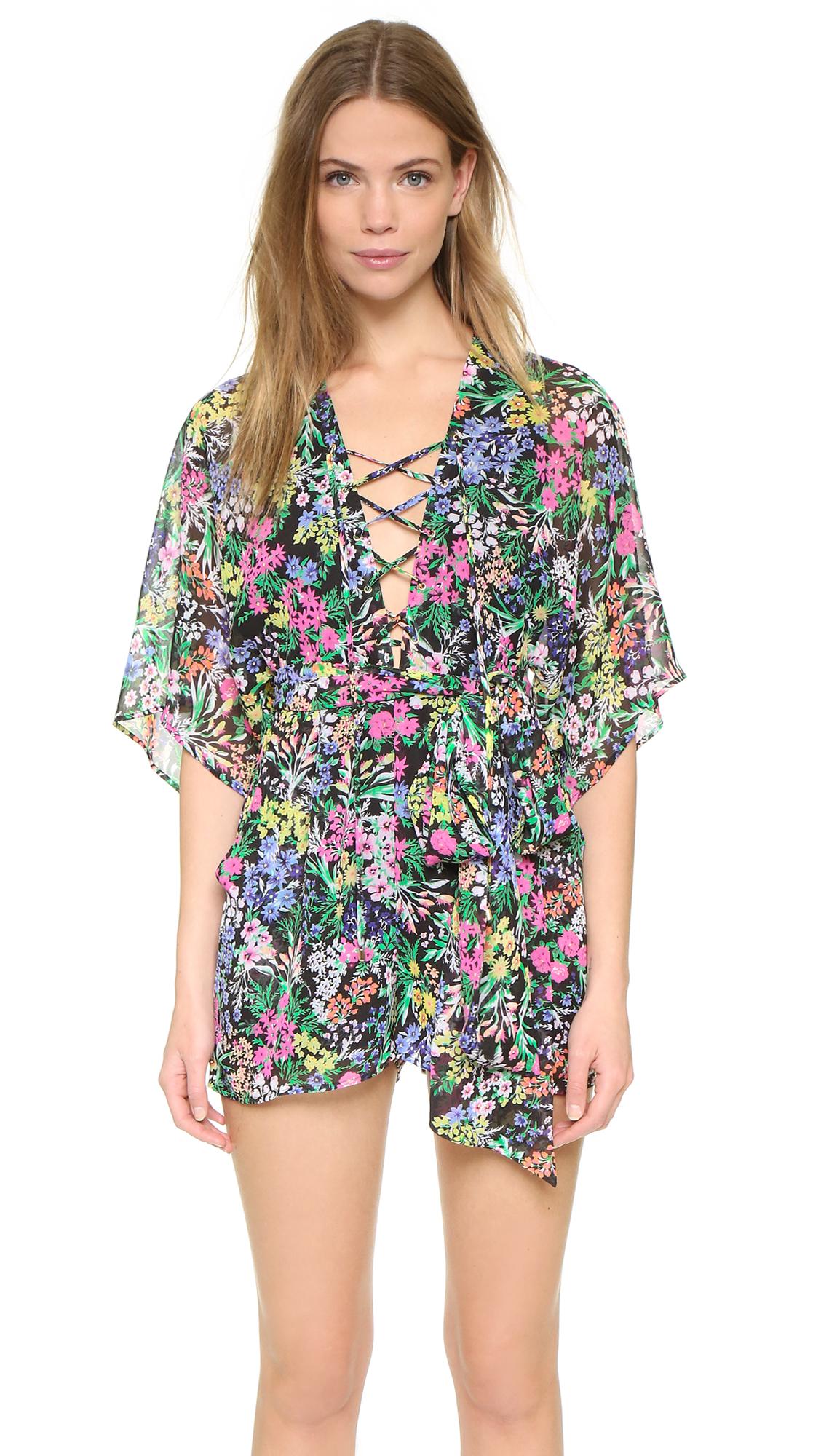 Floral Kimono Romper