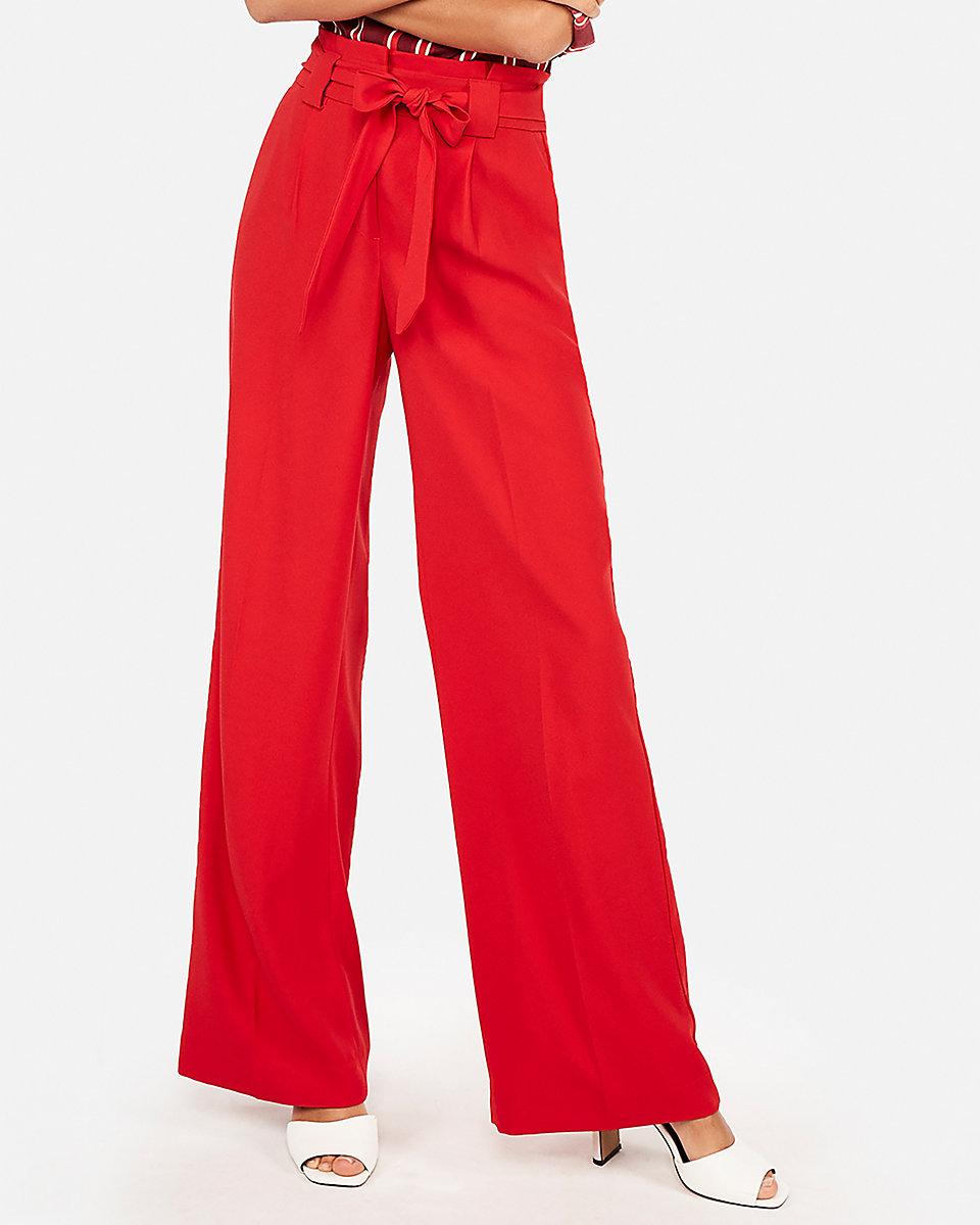 Express high Waisted Sash pants