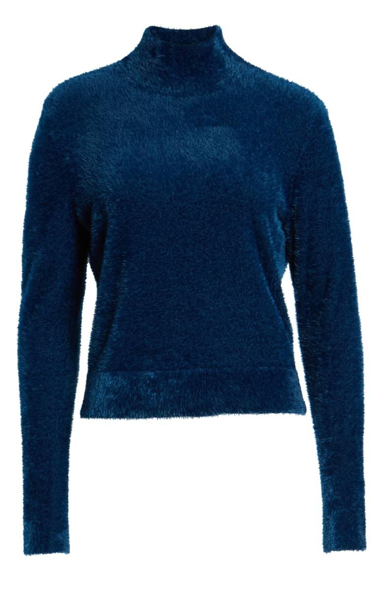 Leith Eyelash Knit Pullover