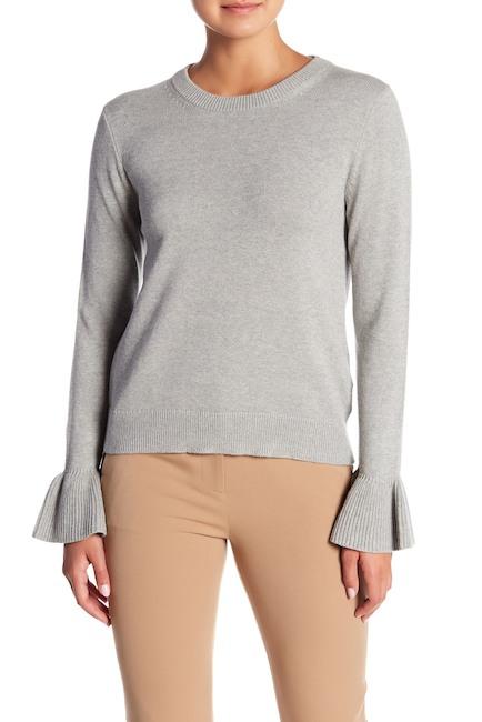 J. Crew Ruffle Cuff Sweater