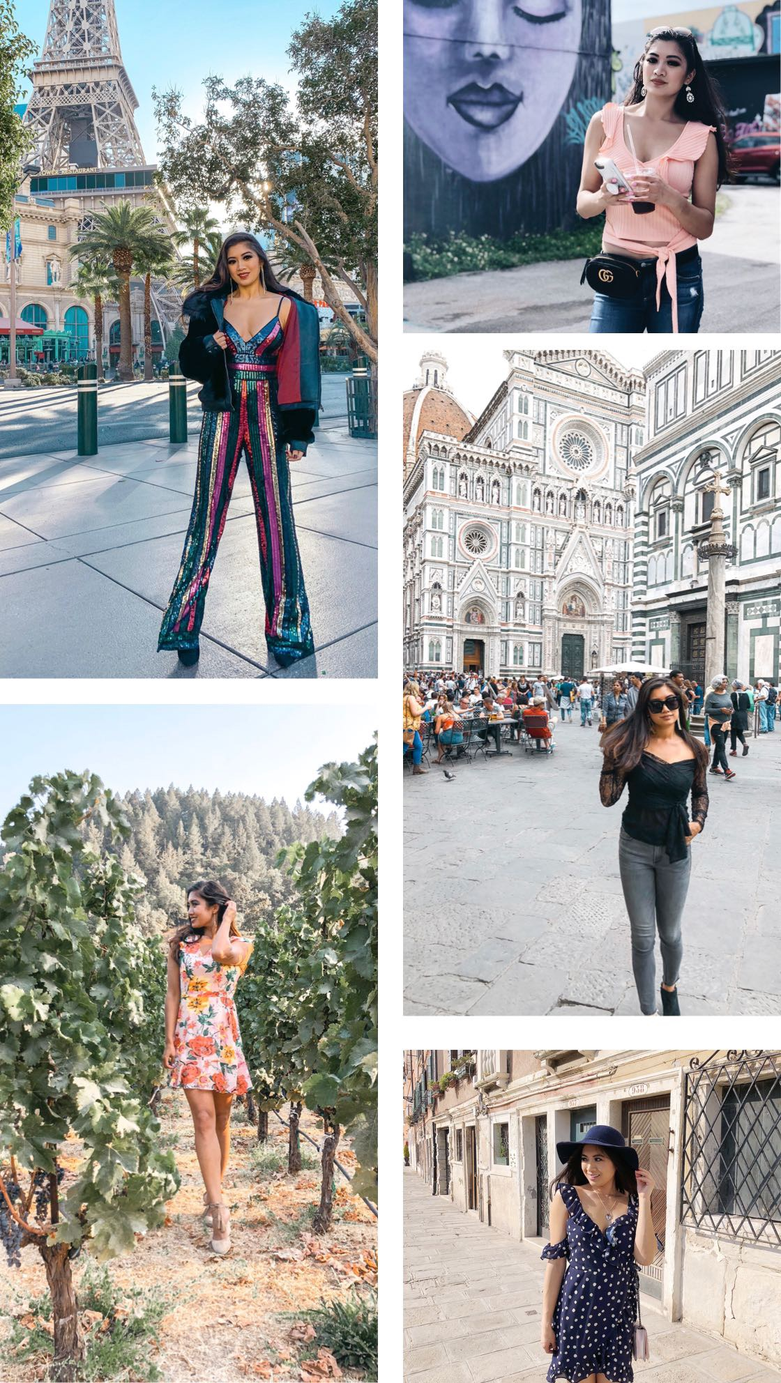 Rounded up some of my favorite photos of 2018 from the different cities I visited this past year!