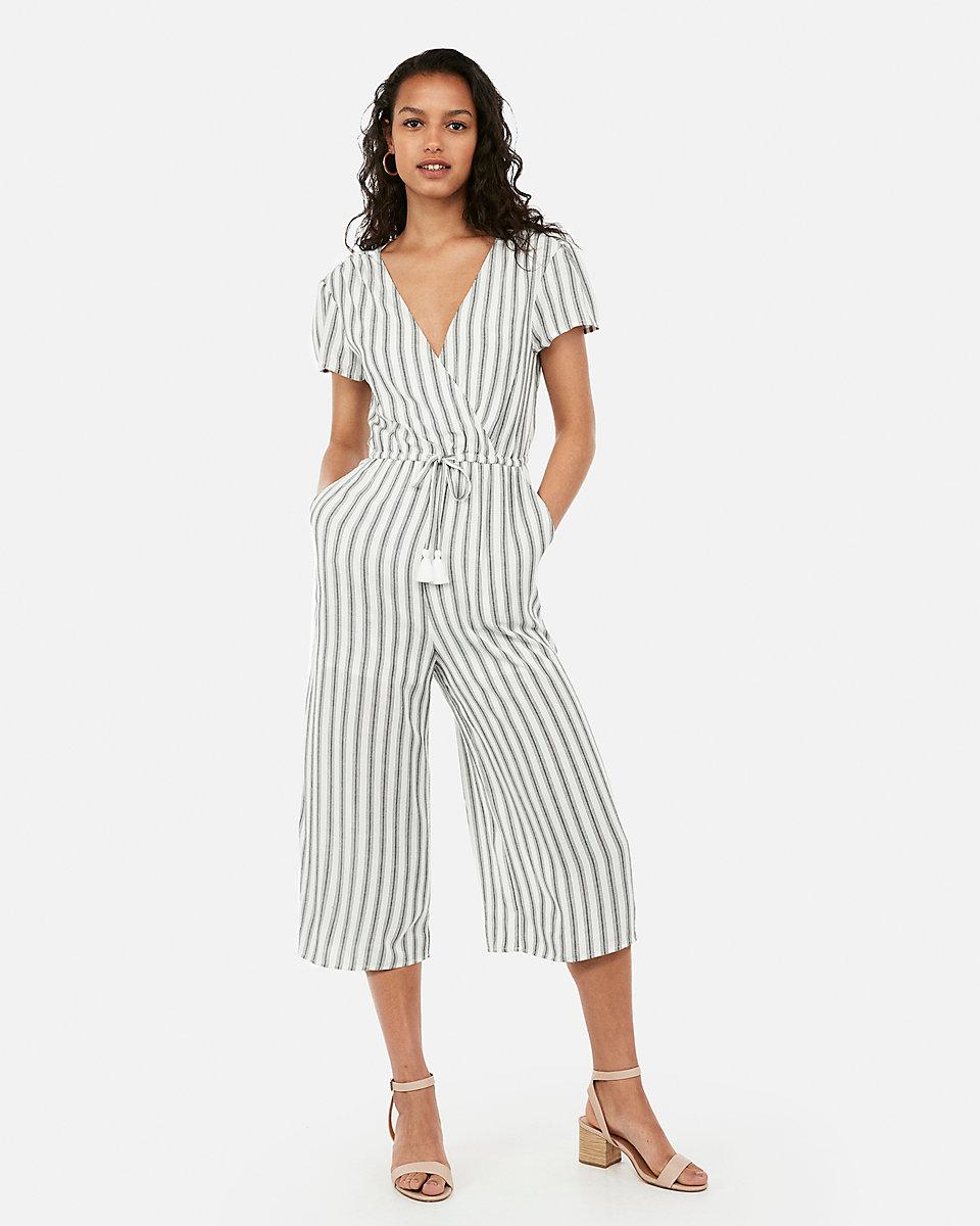 Express Striped Culotte