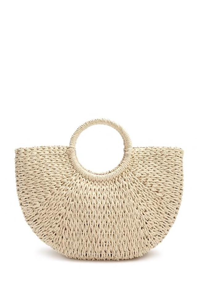 Straw Wicker handbag