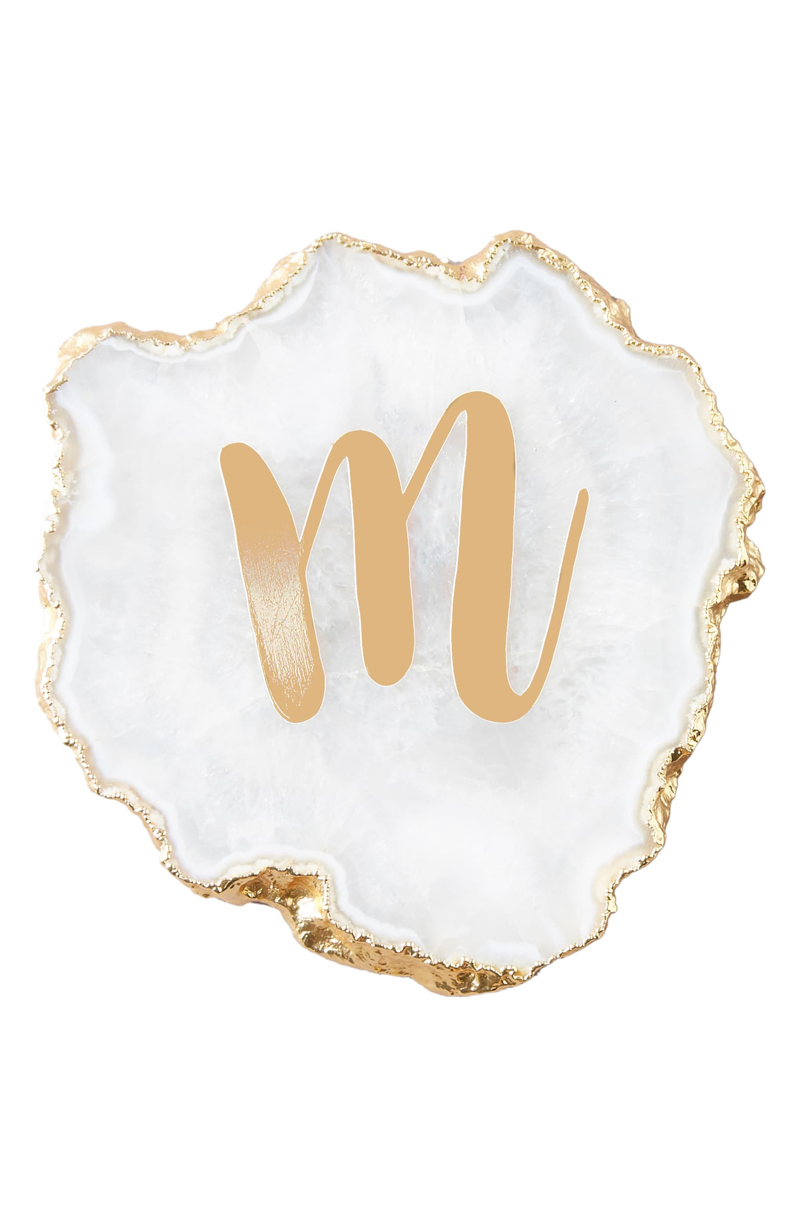 Anthropologie Monogram Coaster