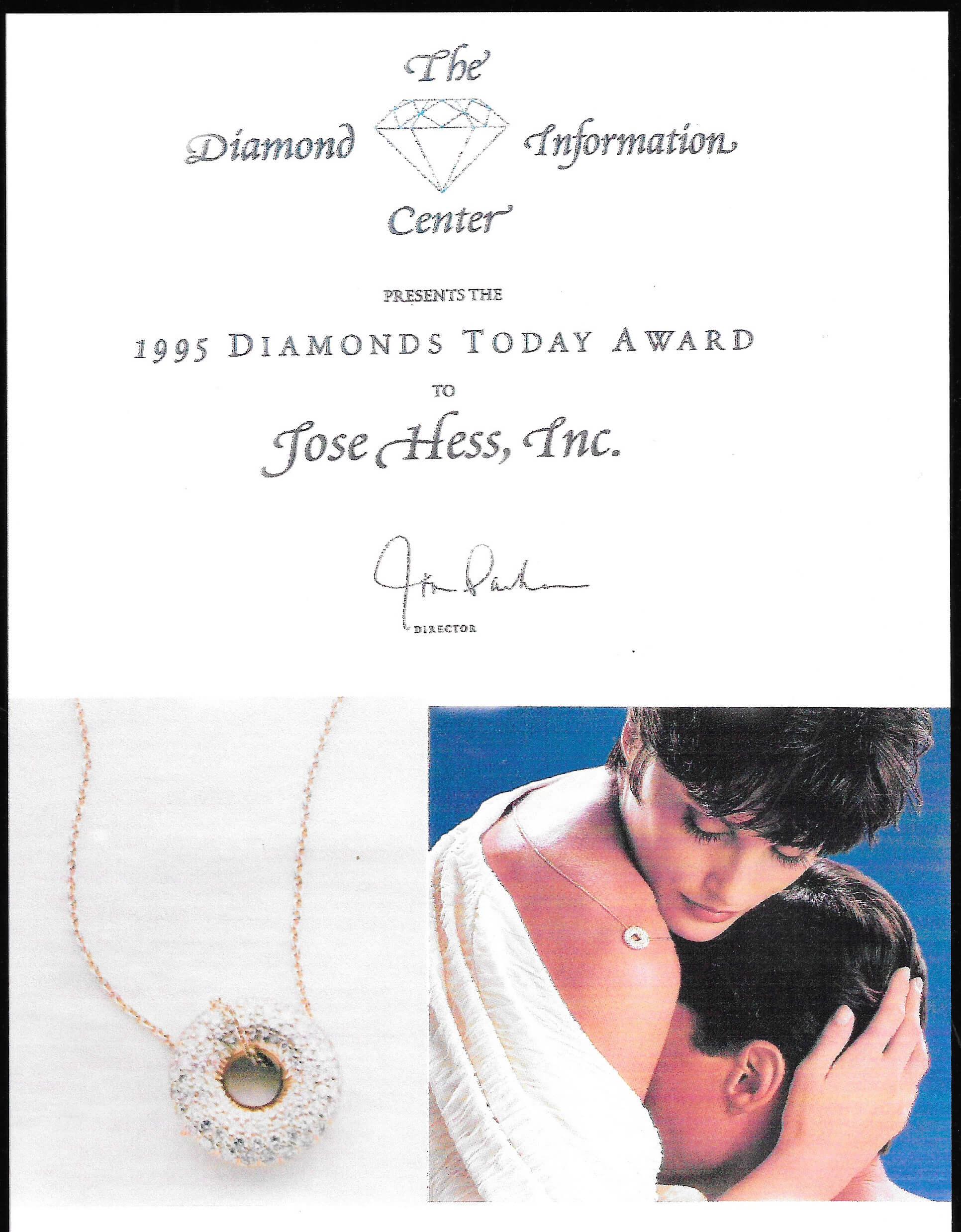 JH Diamonds Today Awards 1995.jpg