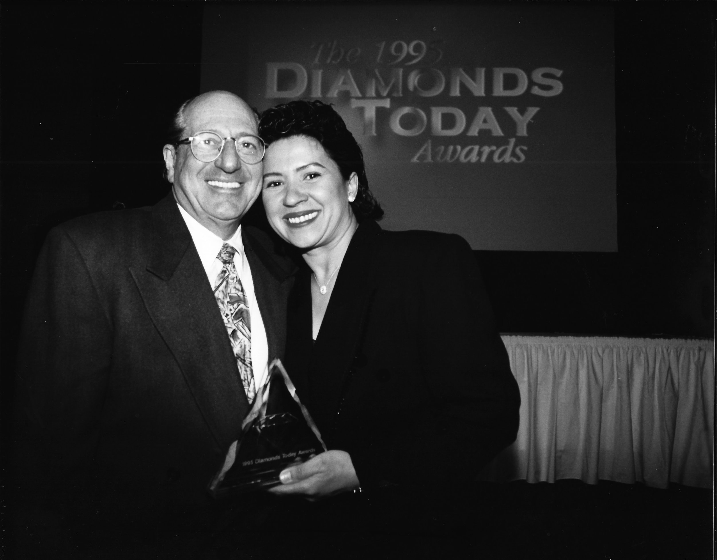 Maggie Hess winner of The Diamonds Today Awards 1995.jpg