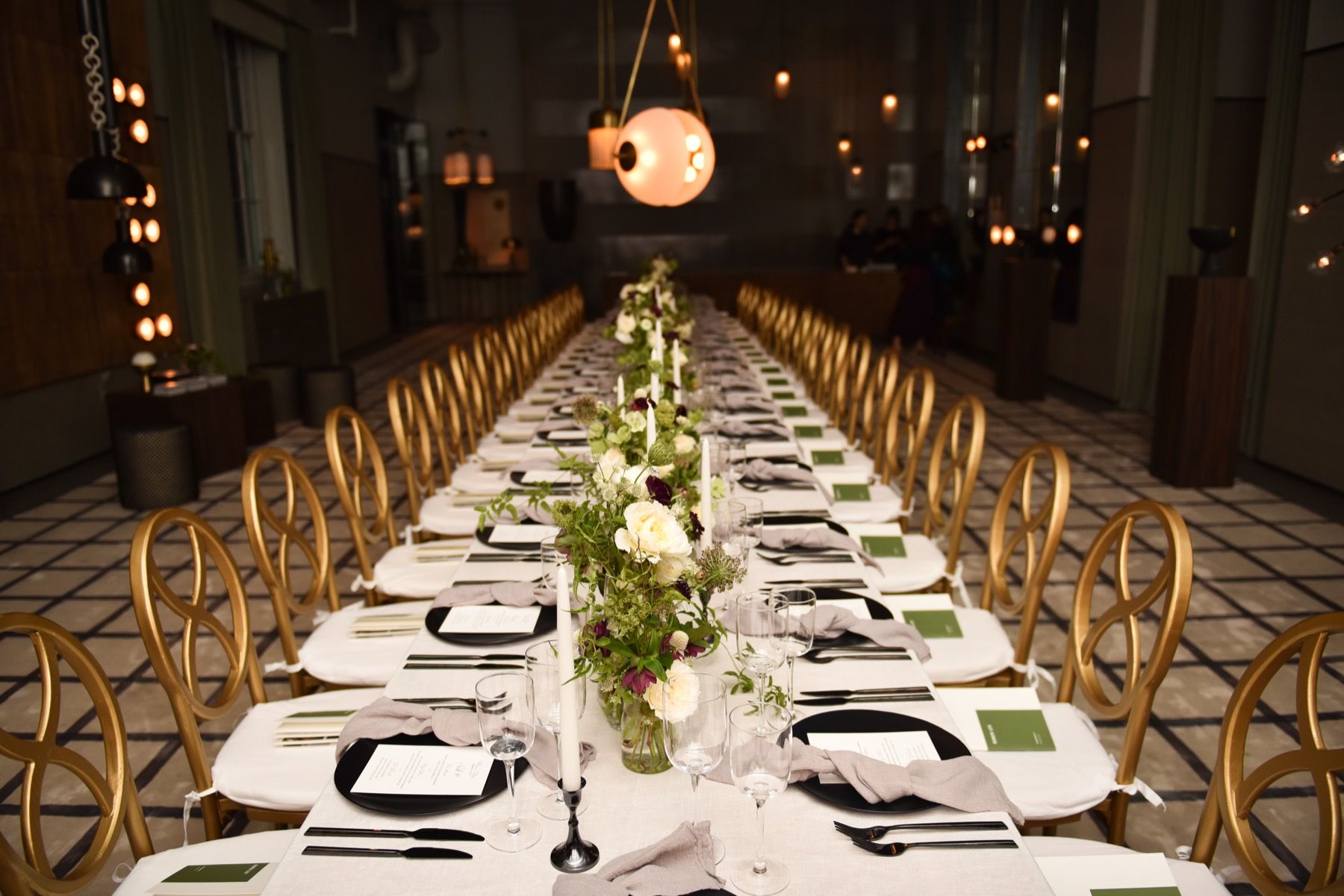 Mimi Brown Studio. Apparatus Dinner.  Mimi Brown Studio specializes in celebrations ranging from stunning weddings and private celebrations to international destination experiences and not for profit events. With over 10 years of experience the studio focuses on the age-old notions of hospitality, graciousness and generosity, and on creating experiences that share these qualities with your guests.