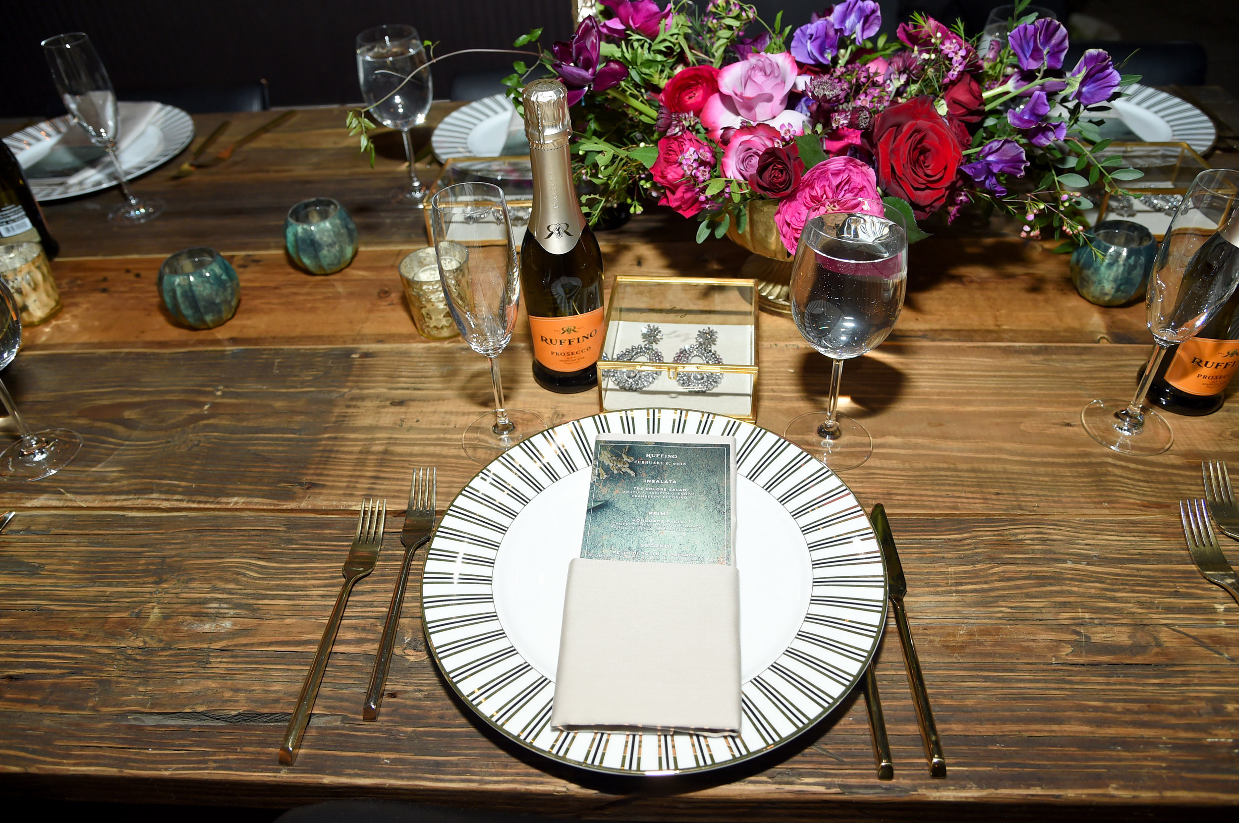 Mimi Brown Studio. Dannijo x Ruffino.  Mimi Brown Studio specializes in celebrations ranging from stunning weddings and private celebrations to international destination experiences and not for profit events. With over 10 years of experience the studio focuses on the age-old notions of hospitality, graciousness and generosity, and on creating experiences that share these qualities with your guests.