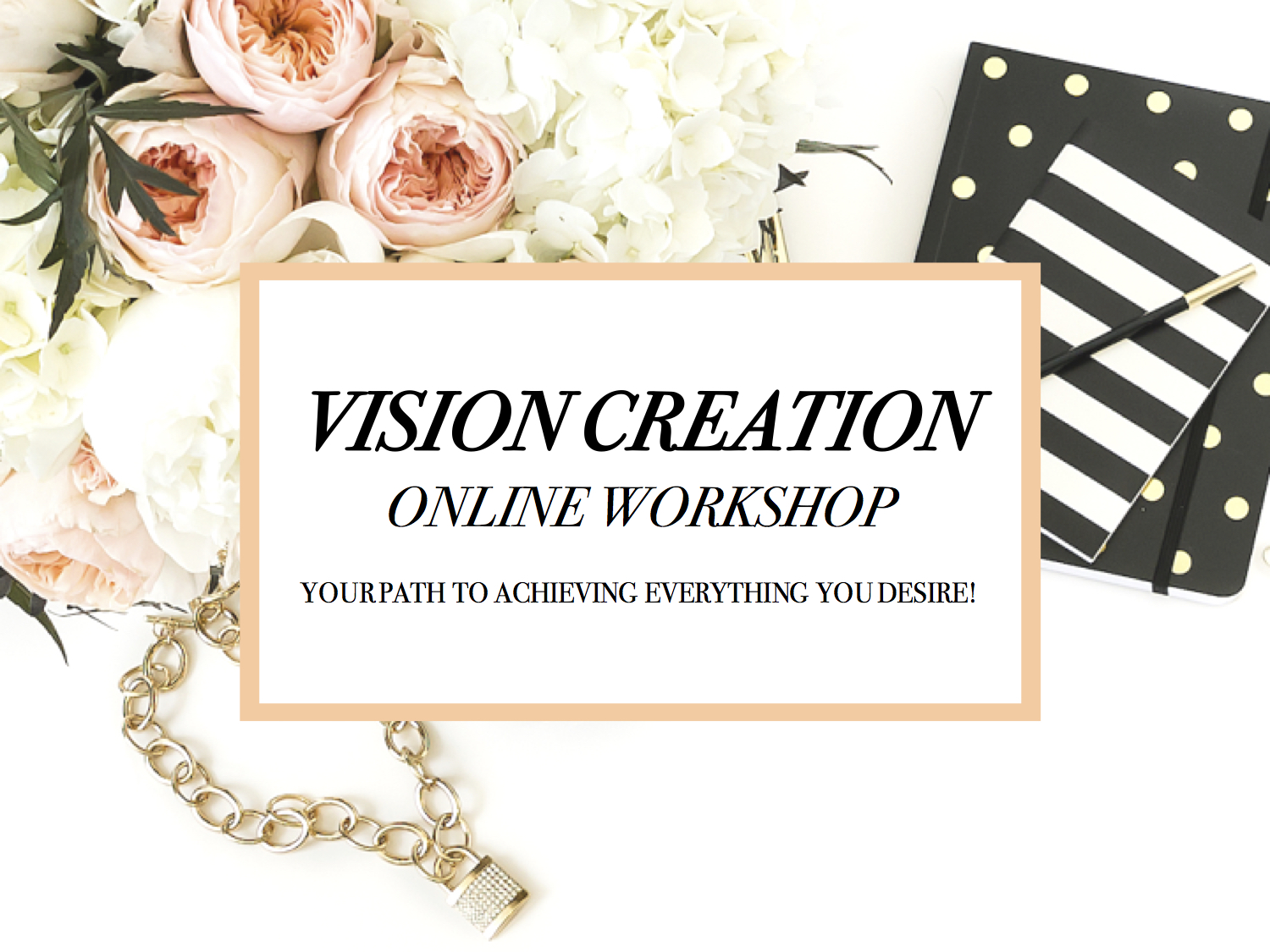 Vision Creation - Discover why you must Vision Create if you want to achieve anything worthwhile. Because you can't just wing it and pray things work out. Not when creating an extraordinary life. Learn how this works so successfully to bring your dreams and goals into reality plus the game-changing Vision Mapping process on how to get anything you want (the same process the great minds of our time have used).AUD $49