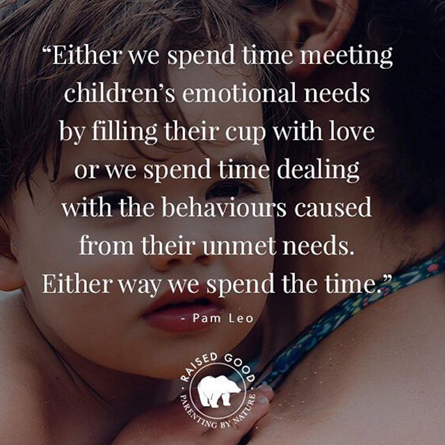 Our children are only ever communicating their needs ❤️ be present enough to truly listen to what they are saying behind their behavior and words #consciousparenting • 📷 @raisedgood