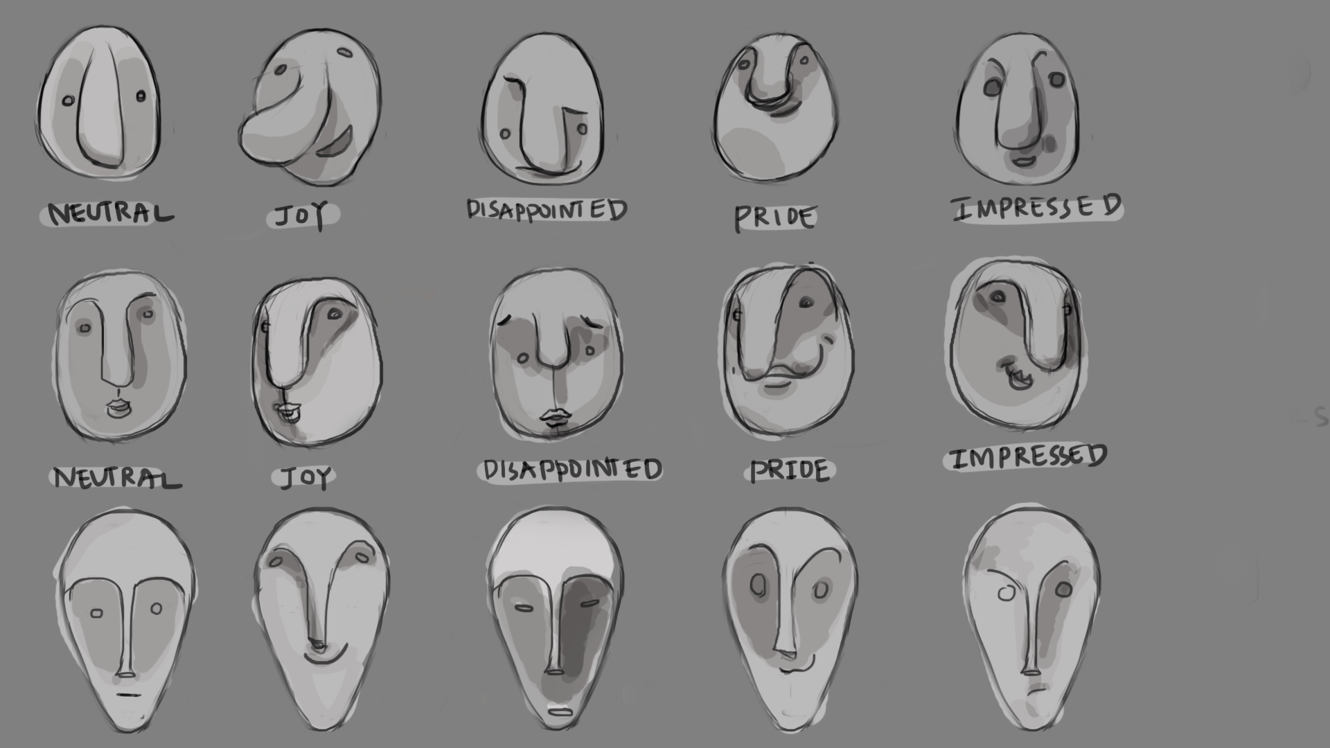 Emotion studies