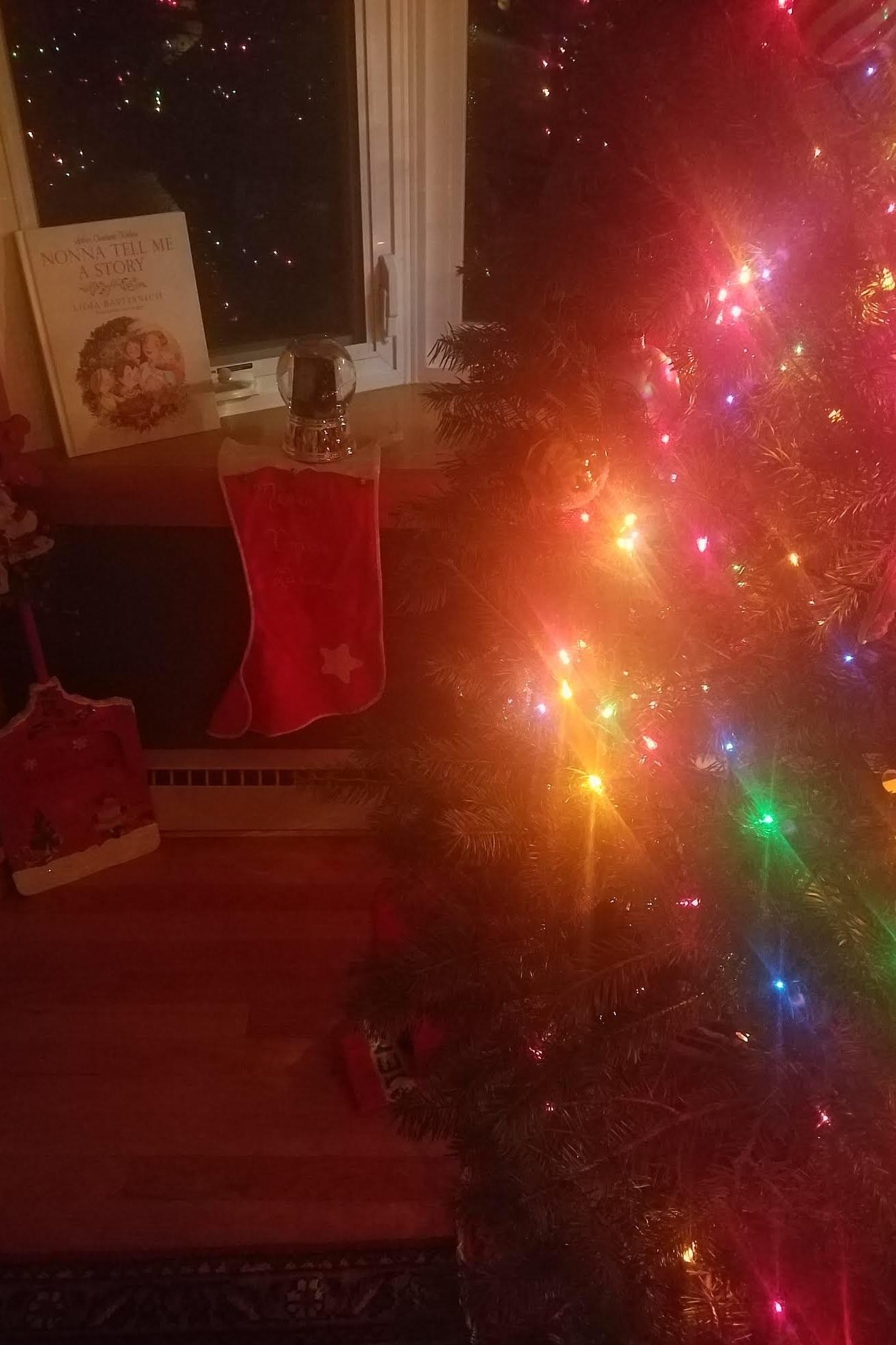 The stocking I had since I was born.