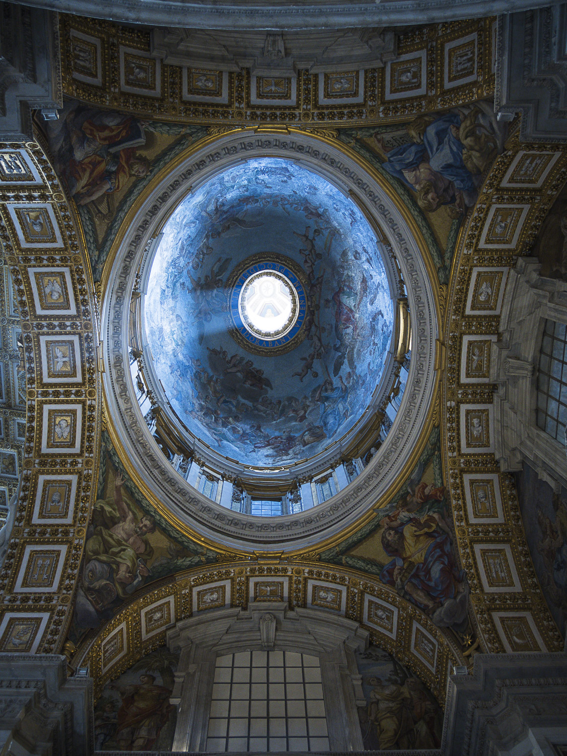 Who Fell Down, St. Peter's Basilica, Rome, Italy, 2015