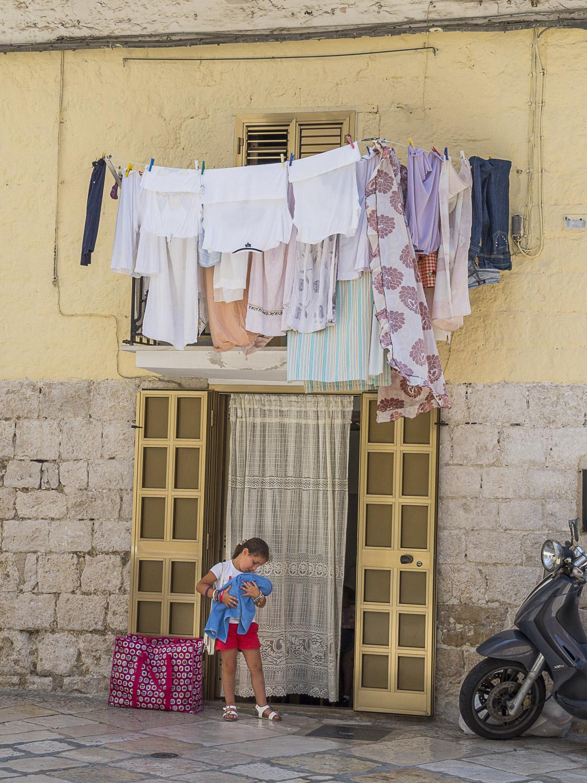 Laundry Day, Bari, Italy, 2015