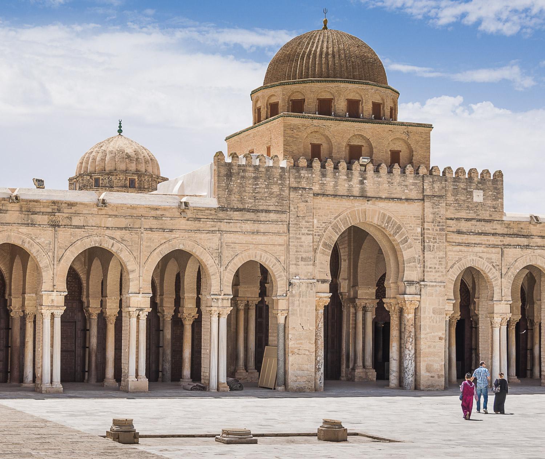 Visitors, Kairouan, Tunisia, 2012