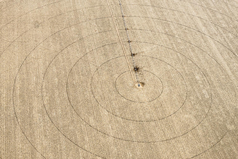 Pivot Circles, Wiggins, CO, 2013