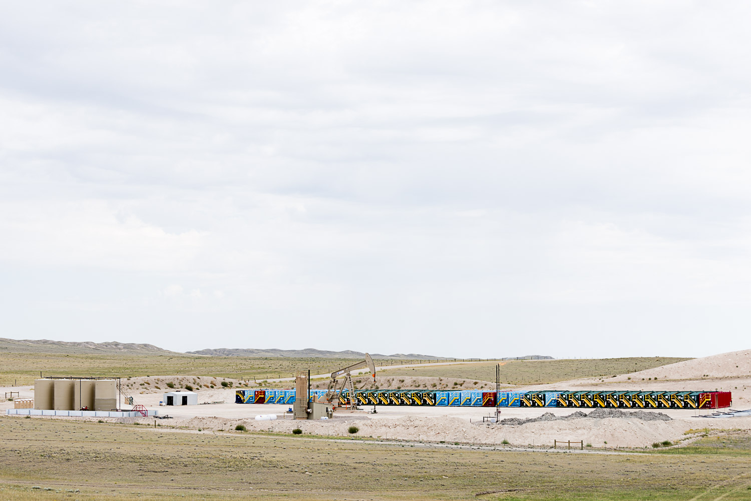 Tank Line, Pawnee Buttes, CO, 2013
