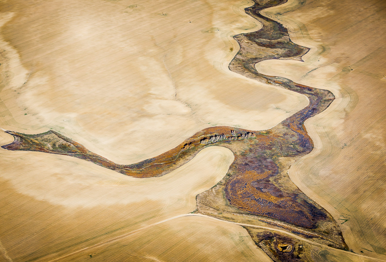Cultivation Boundaries, High Plains, CO, 2013