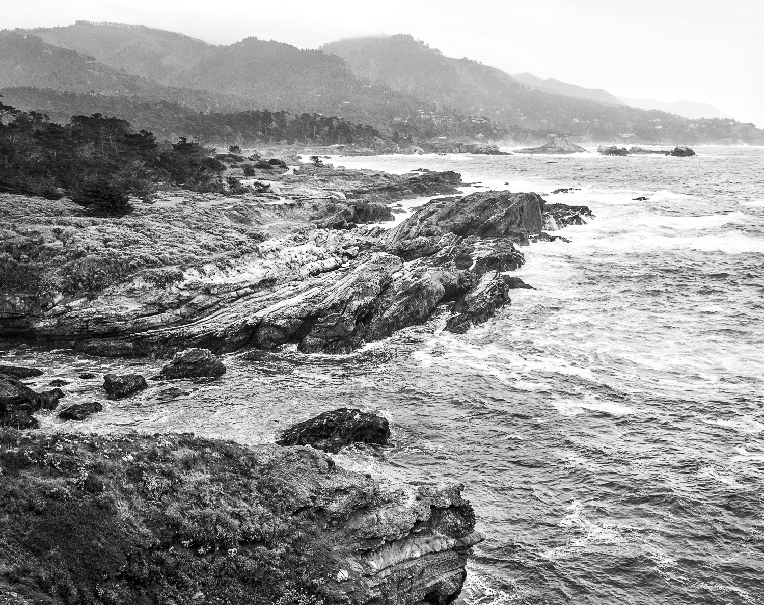 Rocky Coast, Point Lobos, CA, 2007