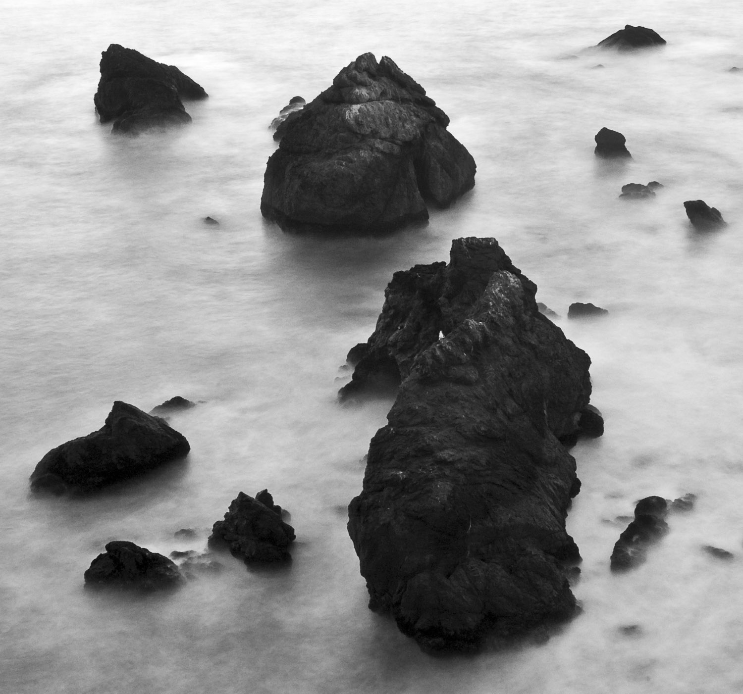 Smooth Sea, Mori Point, CA, 2007