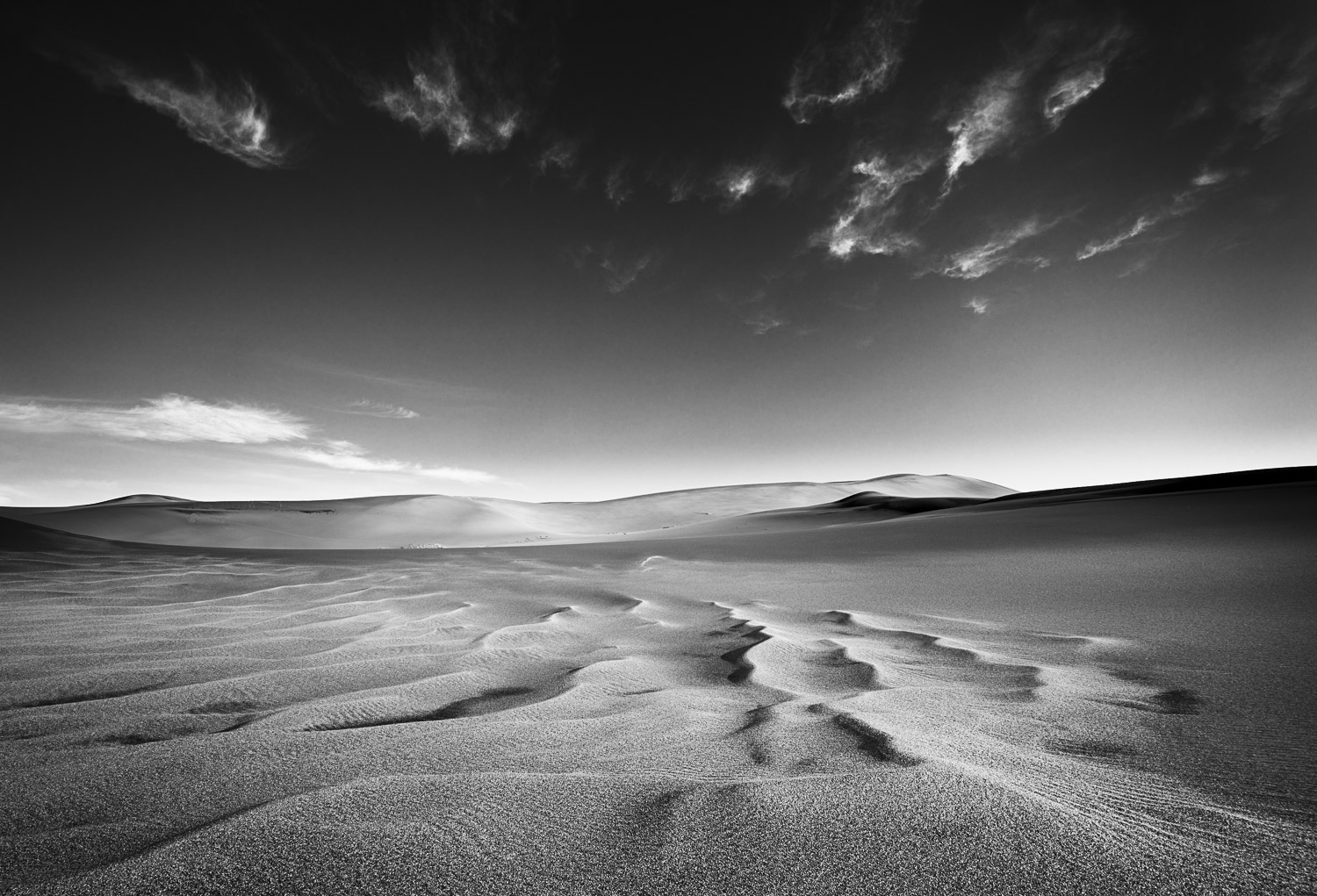 Cloud Waves, Great Sand Dunes NP, CO, 2013