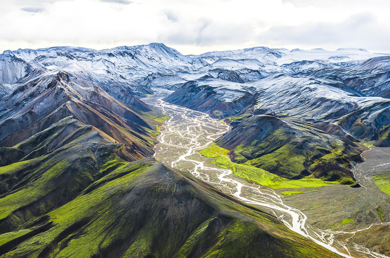 Down from the Glacier, Vatnaoldur, Iceland, 2012