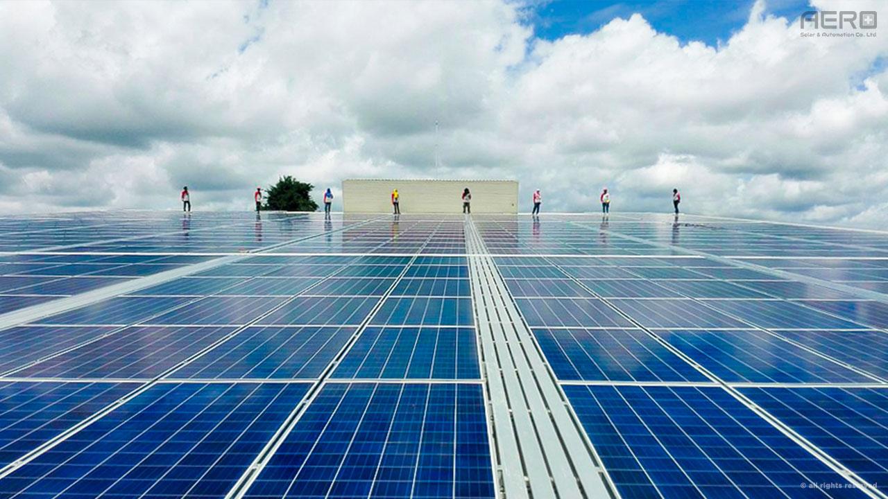 Photovoltaic(PV) Solar Installations by AERO Solar